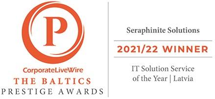 Победитель премии престижа Corporate LiveWire в странах Балтии 2021/22